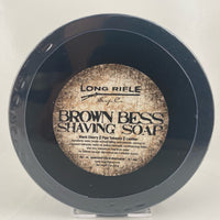 Brown Bess Shaving Soap (3oz Jar) - by Long Rifle Soap Co.