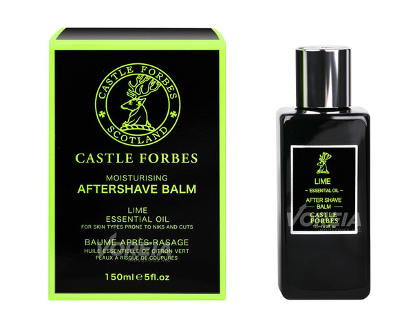 Castle Forbes Lime Essential Oil Aftershave Balm (5oz)
