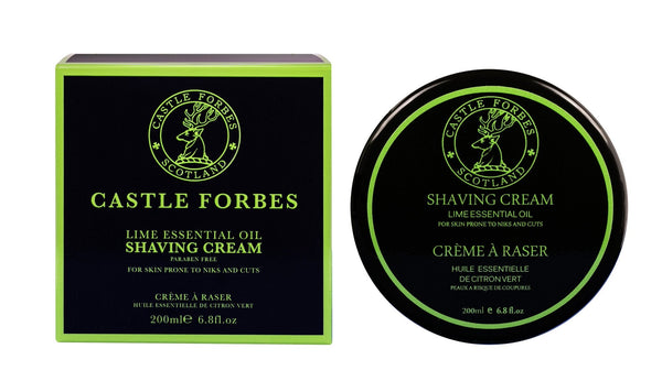 Castle Forbes Lime Essential Oil Shaving Cream (6.8oz)