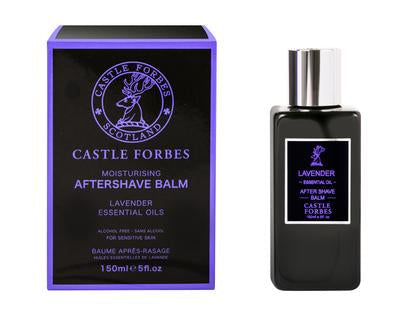 Castle Forbes Lavender Essential Oil Aftershave Balm (5oz)