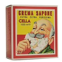 Cella Shave Cream Soap (1 KG/ 2.20 LBS) Almond