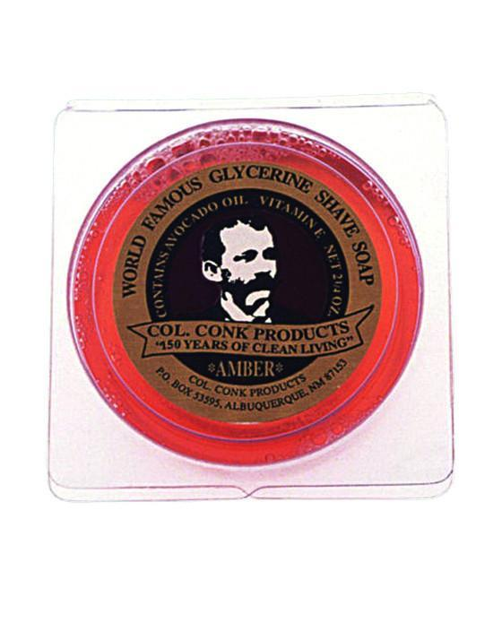 products/Colonel_Conk_Amber_Glycerin_Shave_Soap_2.25oz.jpg
