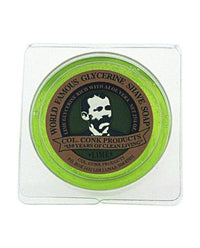 Colonel Conk Lime Glycerin Shave Soap (2.25oz)