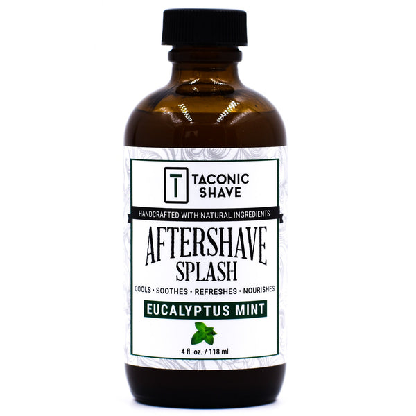 Eucalyptus Mint Aftershave Splash - by Taconic Shave (4oz)