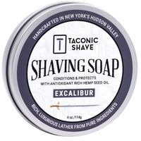 Excalibur Shaving Soap - by Taconic Shave (4oz)