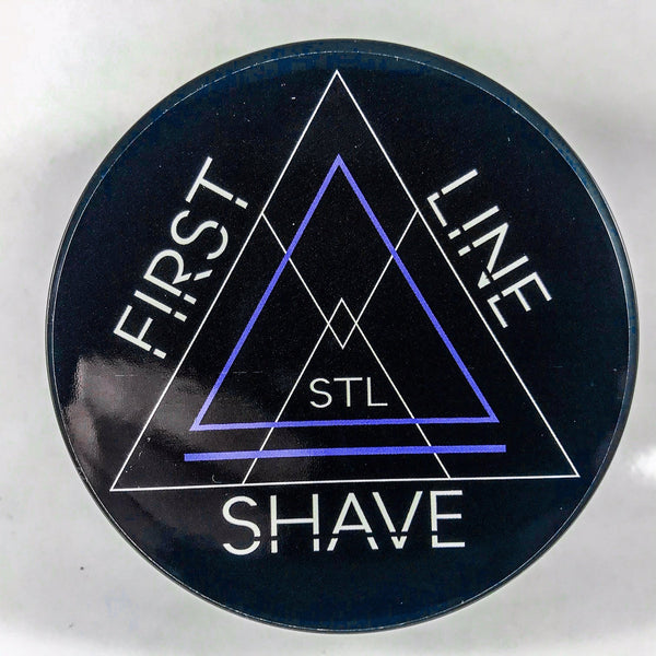 First Line Shave Blue Shaving Soap