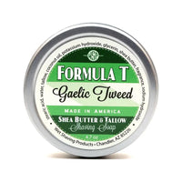 Gaelic Tweed Formula T Shaving Soap - by Wet Shaving Products
