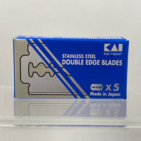Kai Stainless Steel Double-Edge Razor Blades (5 Count)