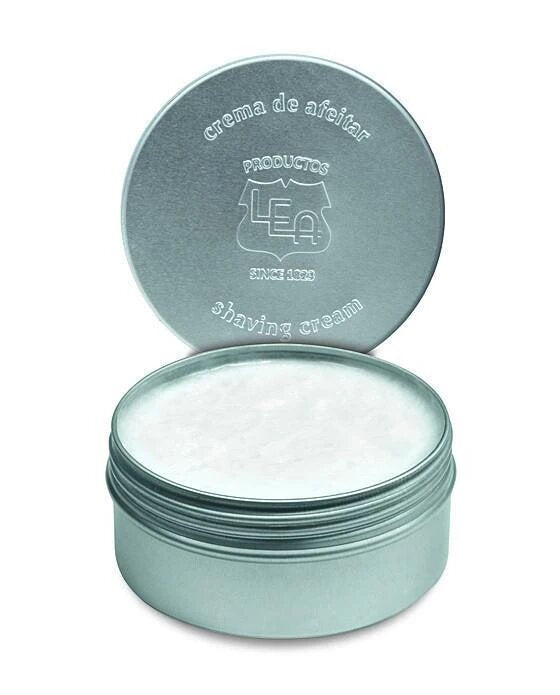 LEA Classic Shaving Cream in Metallic Tub (150g/5.29oz)