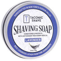 Lavender Shaving Soap - by Taconic Shave (4oz)