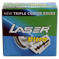Laser Ultra Double Edge Razor Blades (50 Pack)