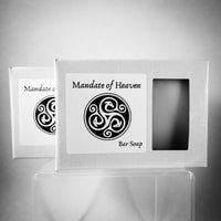 Mandate of Heaven Bar Soap  (Two Bars - 4.5oz ea.)