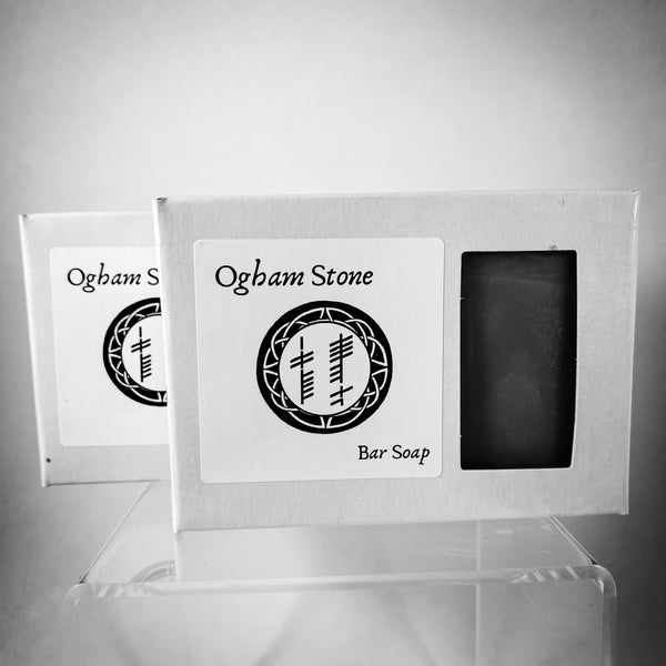 Ogham Stone Bar Soap  (Two Bars - 4.5oz ea.)