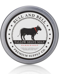 Original Barbershop Shaving Soap - by Bull and Bell Premium Supply Co.