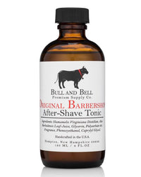 Original Barbershop Aftershave Tonic - by Bull and Bell Premium Supply Co.