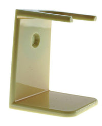 PureBadger Collection Shaving Brush Stand, Ivory Acrylic, Standard Mouth