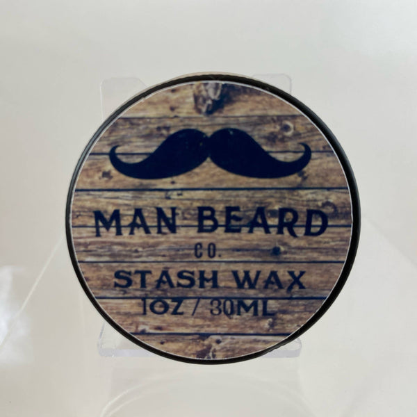 Man Beard Stash Wax - by Man Beard Co. (Pre-Owned)
