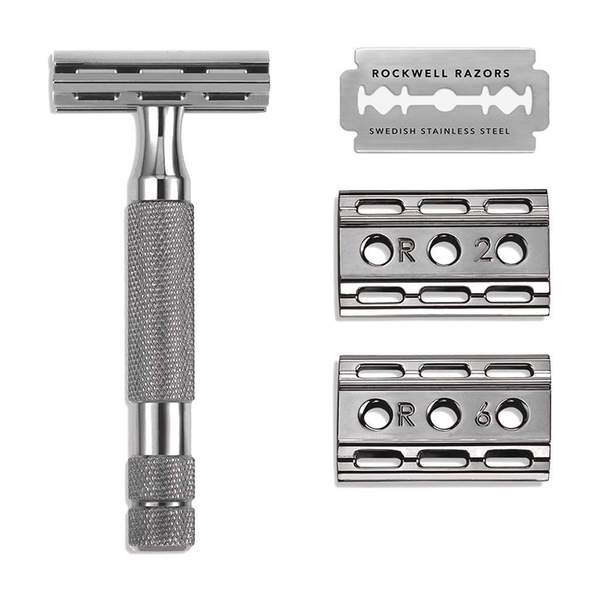 Rockwell Razors 6C Double-Edge Safety Razor (Gunmetal Chrome)
