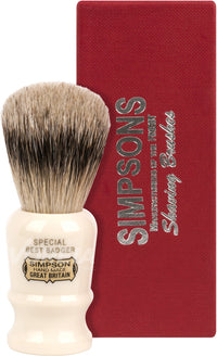 Simpson Special 1 Best Badger Shaving Brush S1
