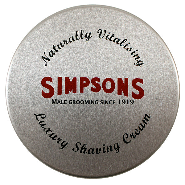Simpsons Luxury Shaving Cream (4.2oz)