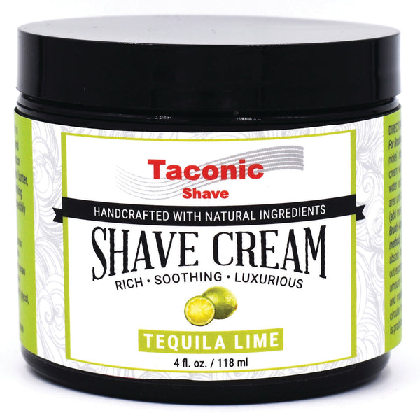 Taconic Shave Cream, Tequila Lime (4oz)