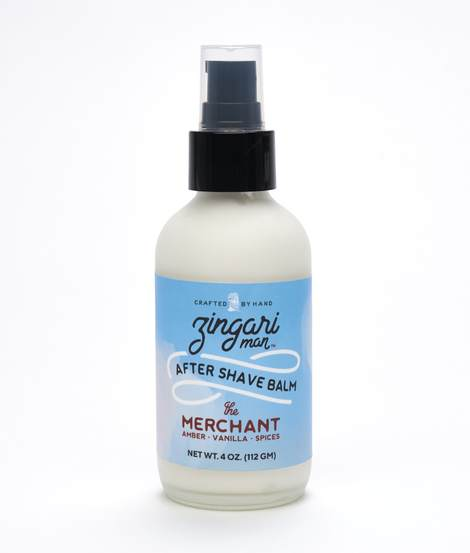 The Merchant After Shave Balm - by Zingari Man