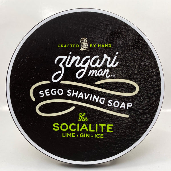 The Socialite Sego Shaving Soap - by Zingari Man