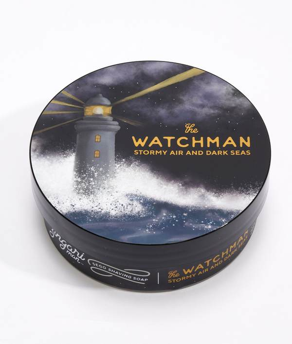 The Watchman Sego Shaving Soap - by Zingari Man
