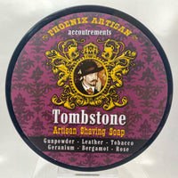 Tombstone Artisan Shaving Soap - The Original Epic Wild West Scent - by Phoenix Artisan Accoutrements