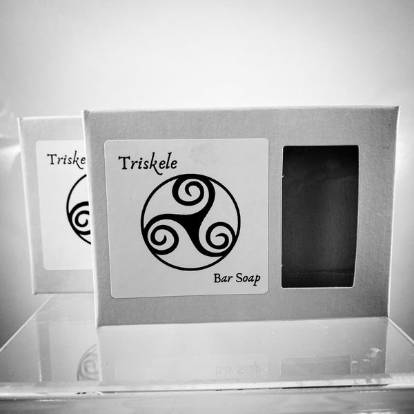 Triskele Bar Soap  (Two Bars - 4.5oz ea.)