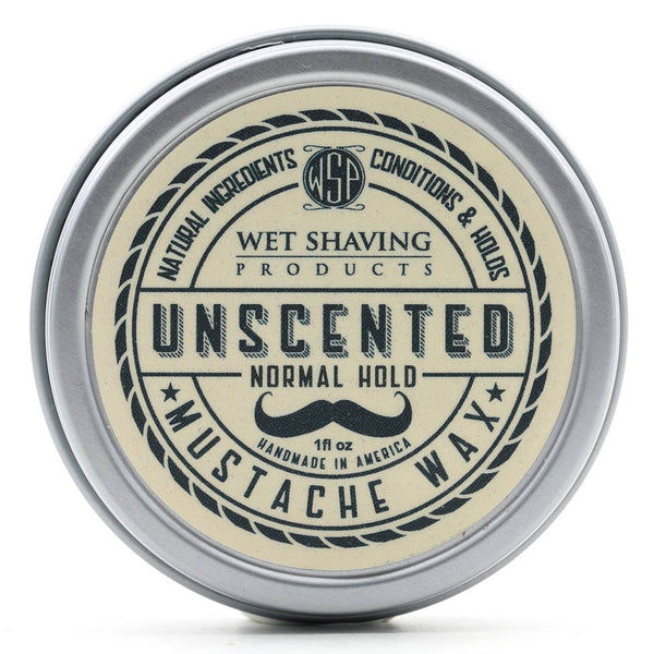 Unscented Mustache Wax - by Wet Shaving Products