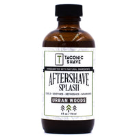 Urban Woods Aftershave Splash - by Taconic Shave (4oz)