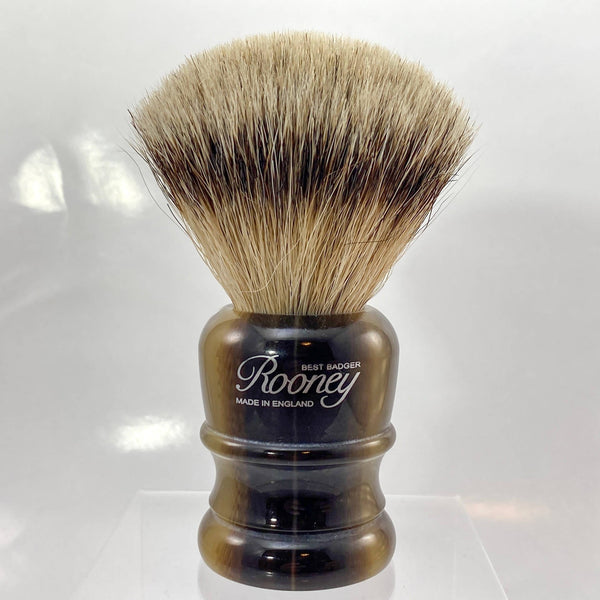 Best Badger Shaving Brush in Faux Horn - by Rooney (Pre-Owned)