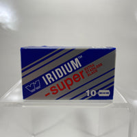 Wizamet Super Iridium Double Edge Razor Blades (10 blade pack)