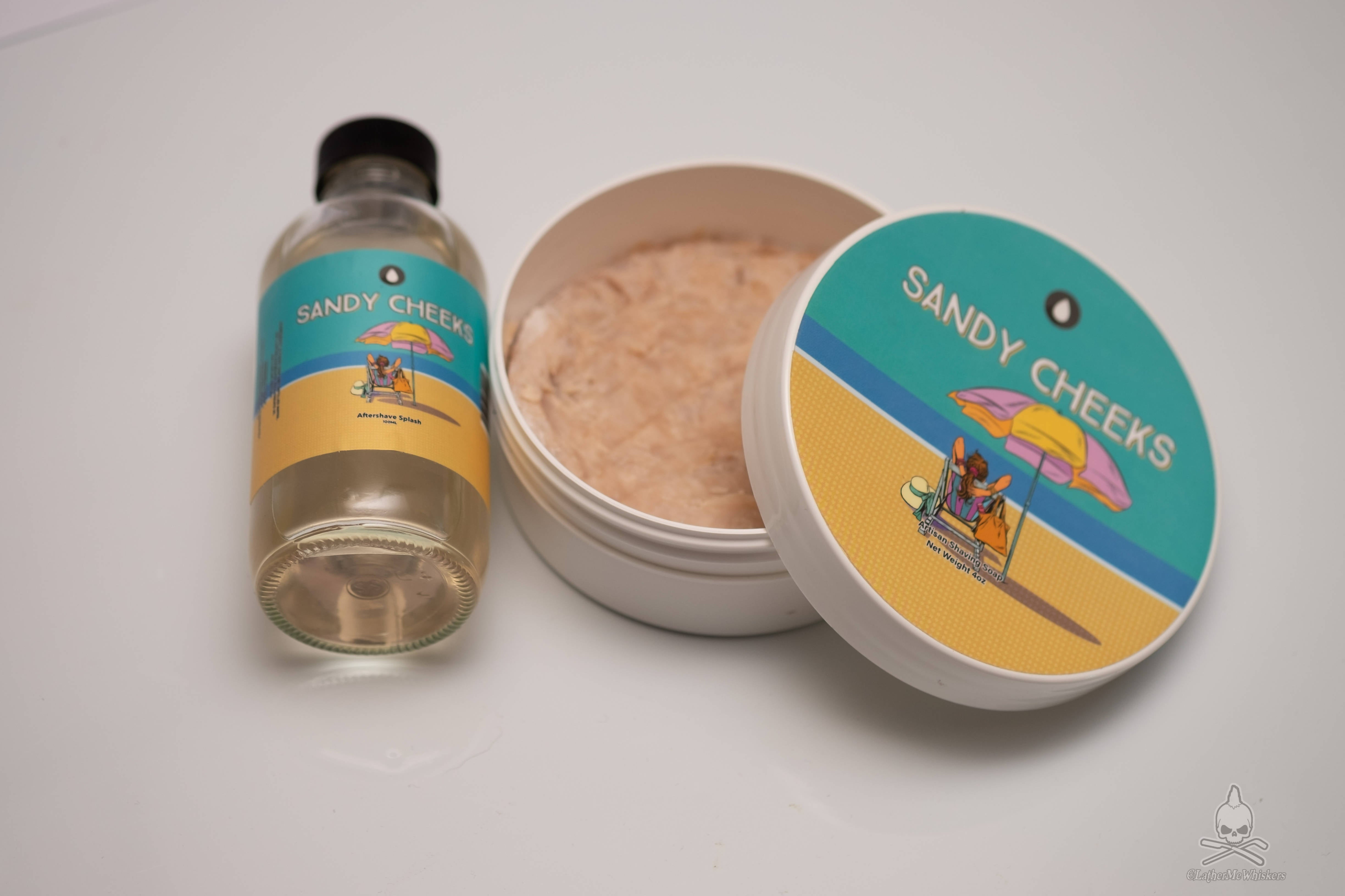 Oleo Soaps Sandy Cheeks Soap and Splash