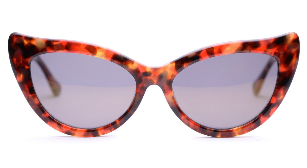LDNR Charlotte 002 Sunglasses (Red Tort)