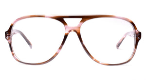 LDNR Heron Glasses (Brown Stripe)