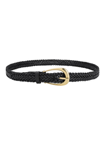Sancia The Annely Woven Belt in Black