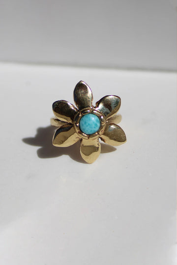 Sadie Jo Jewelry Co. Larimar Sunflower Ring