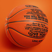 Mom to Daughter - You Will Never Lose Basketball