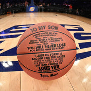 Mum to Son - You Will Never Lose  Basketball