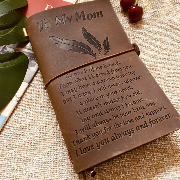 To My Mom - I Love You always - Vintage Journal