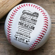 Grandpa to grandson - This old lion | Baseball