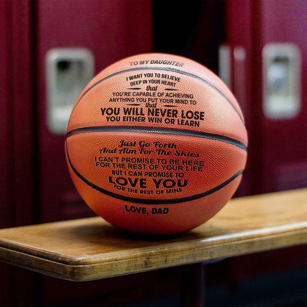Dad to Daughter - You Will Never Lose Basketball