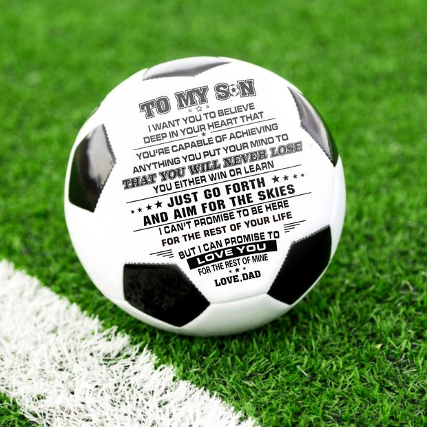 Dad to Son - I Love You - Soccer Ball