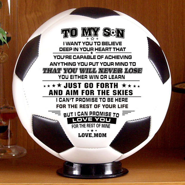 Personalize Your Soccer Ball