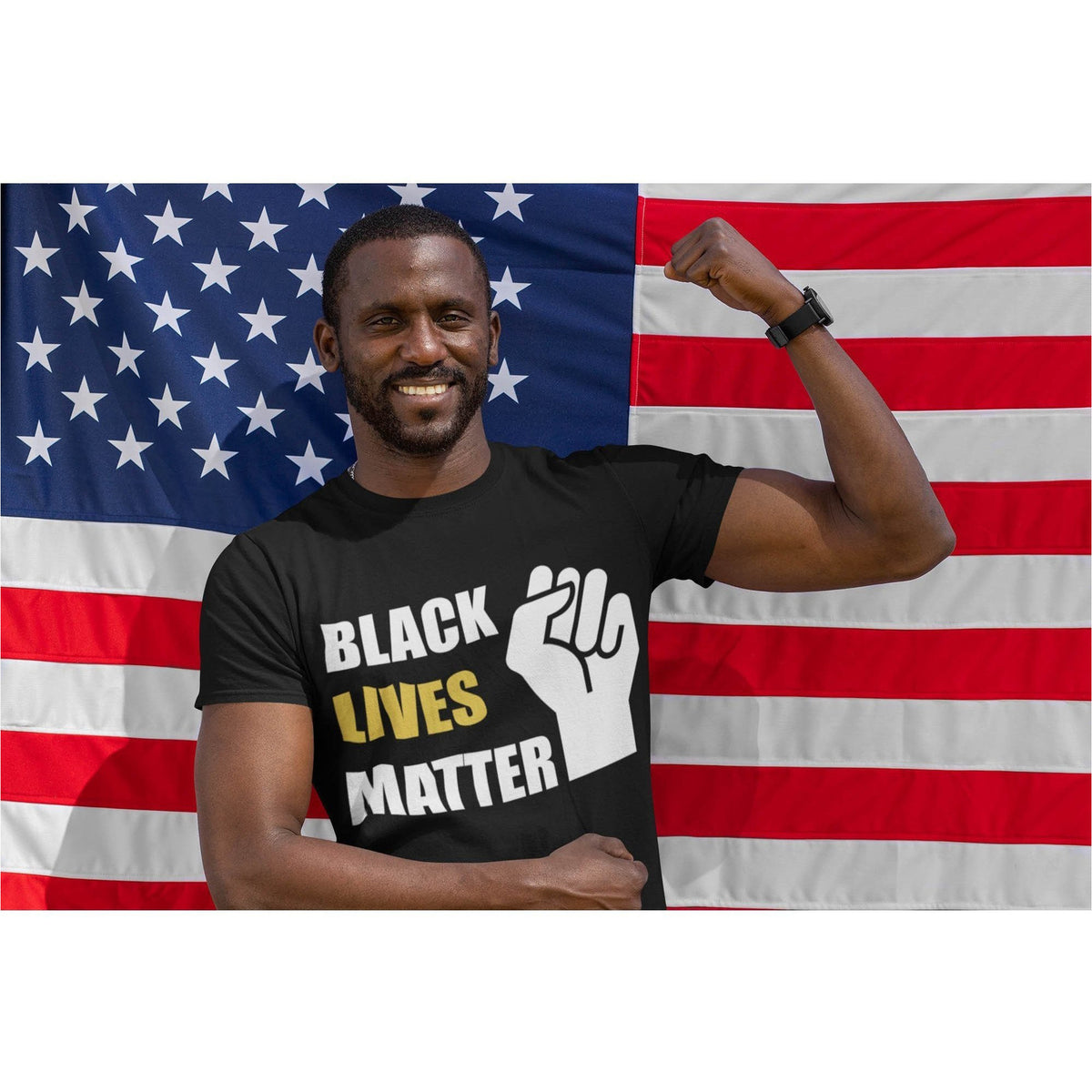 Black Lives Matter Men's Organic T-Shirt