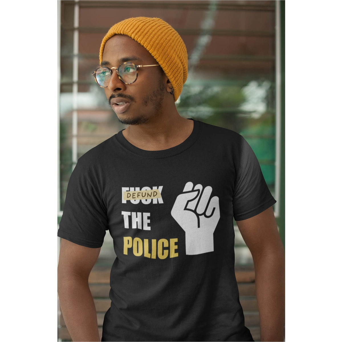 Defund the Police Men's Organic T-Shirt