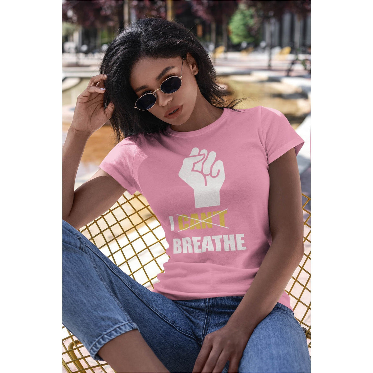 I Can't Breathe Women's Premium T-Shirt