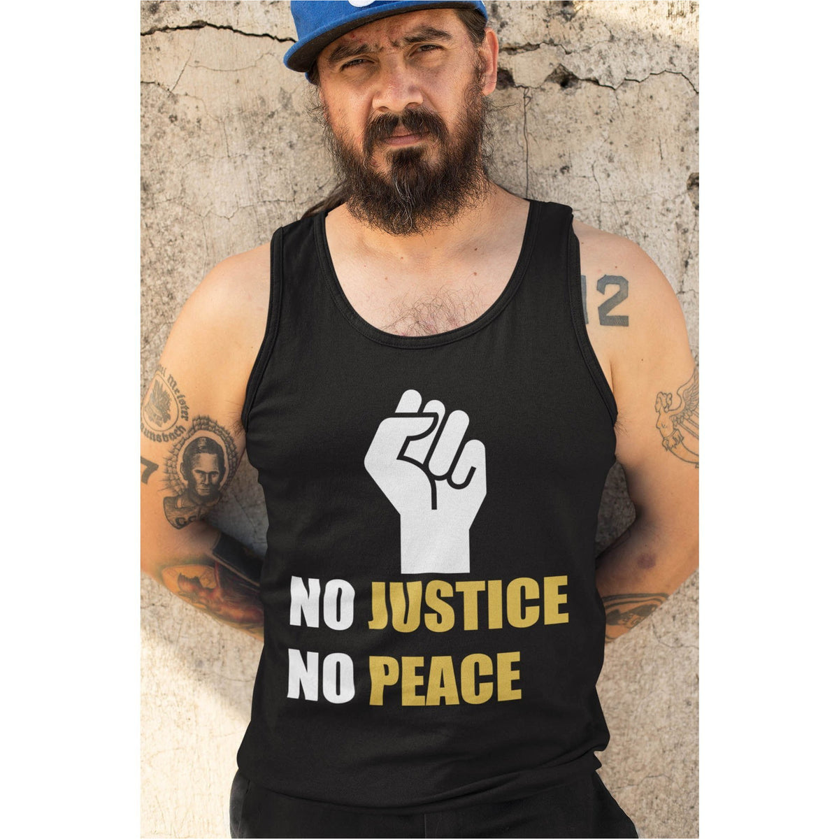 No Justice No Peace Men's Tank